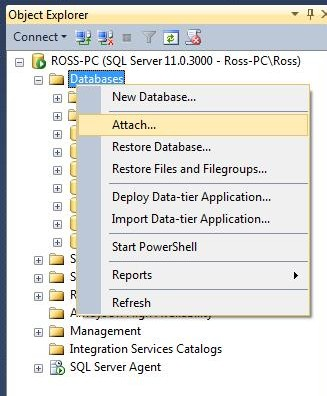 Install Northwind database in Microsoft SQL Server 2012 in 3